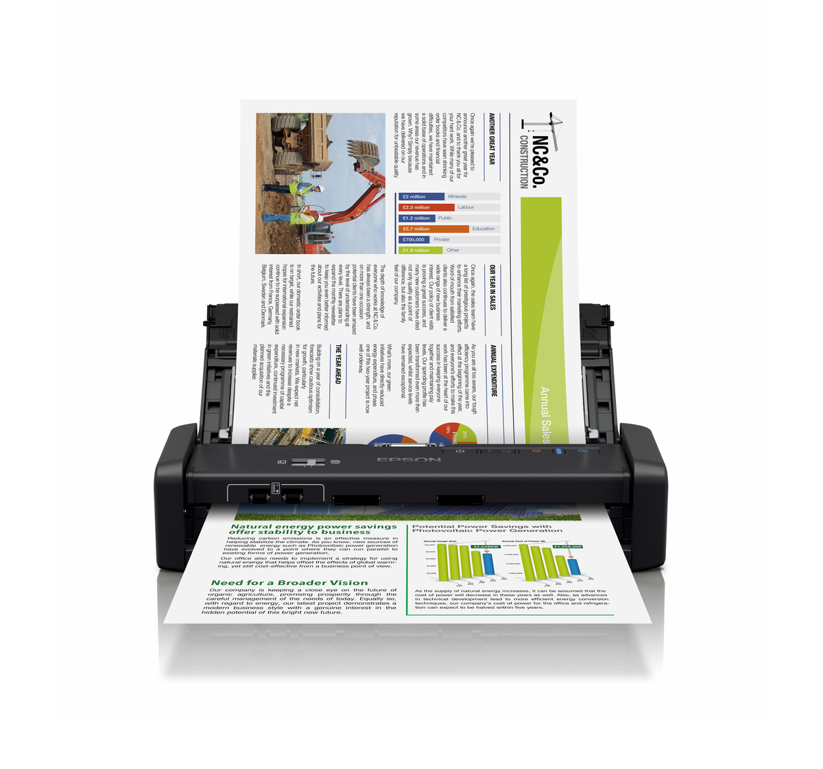 Máy Scan Epson WorkForce DS-360W
