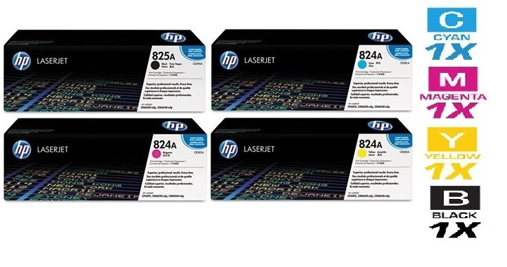 Bộ mực HP Color LaserJet  CP6015 Toner Cartridge ( HP 823A mực